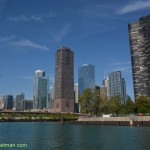 360-Chicago skyline from water