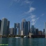 362-Chicago skyline from water
