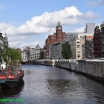 0691-Amsterdam Canals from above